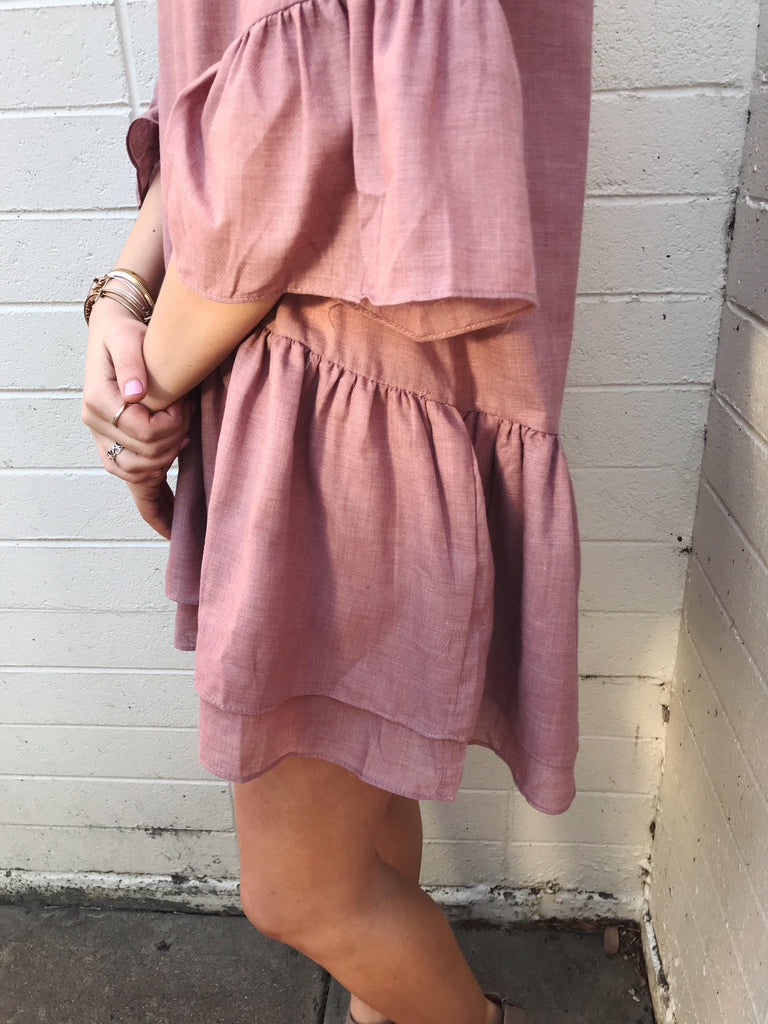 Lucy Ruffle Dress