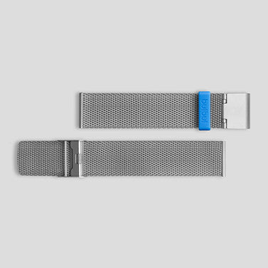 Steel Milanese Meshband for Pebble / Ore / Oblong