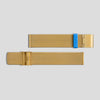 Golden Milanese Meshband for Pebble / Ore / Oblong