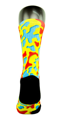 3D Camo CES Custom Socks - CustomizeEliteSocks.com - 4