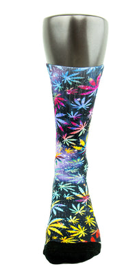 420 Fest CES Custom Socks - CustomizeEliteSocks.com - 2