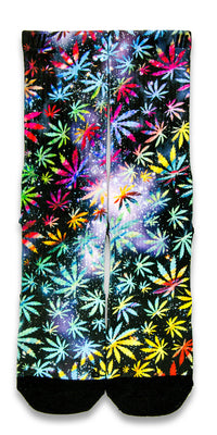 420 Fest CES Custom Socks - CustomizeEliteSocks.com - 1
