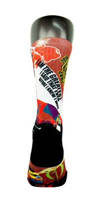 Muhammad Ali CES Custom Socks - CustomizeEliteSocks.com - 4