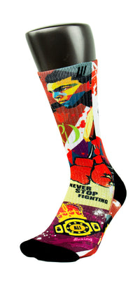 Muhammad Ali CES Custom Socks - CustomizeEliteSocks.com - 3