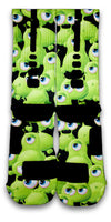 Freaky Eyeballs Monsters Custom Elite Socks - CustomizeEliteSocks.com - 3