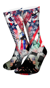 American Pride Custom Elite Socks - CustomizeEliteSocks.com - 4