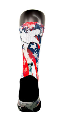 American Pride CES Custom Socks - CustomizeEliteSocks.com - 4