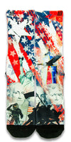 American Pride CES Custom Socks - CustomizeEliteSocks.com - 1