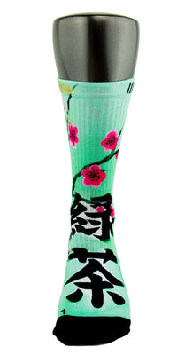 Arizona Green Tea CES Custom Socks - CustomizeEliteSocks.com - 2