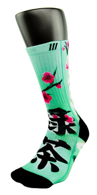 Arizona Green Tea CES Custom Socks - CustomizeEliteSocks.com - 3