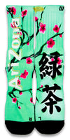 Arizona Green Tea CES Custom Socks - CustomizeEliteSocks.com - 1