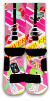 Back to The Future Custom Elite Socks - CustomizeEliteSocks.com - 2