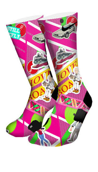 Back to The Future Custom Elite Socks - CustomizeEliteSocks.com - 4