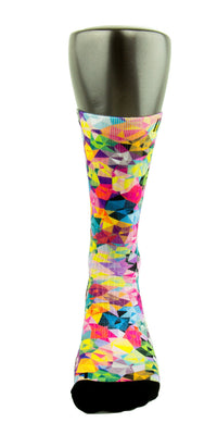Bejeweled CES Custom Socks - CustomizeEliteSocks.com - 2
