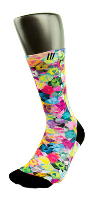 Bejeweled CES Custom Socks - CustomizeEliteSocks.com - 3