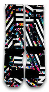 Bengal Stripes Custom Elite Socks - CustomizeEliteSocks.com - 3