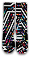 Bengal Stripes Custom Elite Socks - CustomizeEliteSocks.com - 2