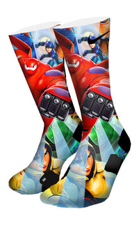Big Hero 6 Custom Elite Socks - CustomizeEliteSocks.com - 4