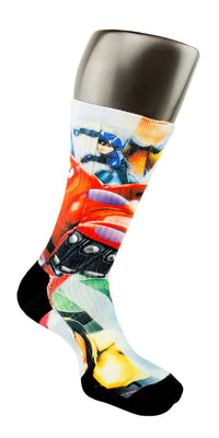 Big Hero 6 CES Custom Socks - CustomizeEliteSocks.com - 4