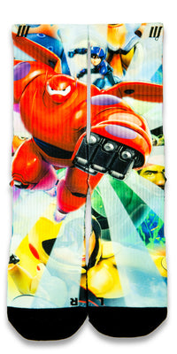 Big Hero 6 CES Custom Socks - CustomizeEliteSocks.com - 1