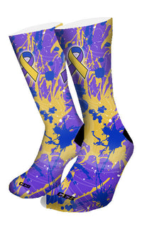 Bladder Cancer Custom Elite Socks - CustomizeEliteSocks.com - 4