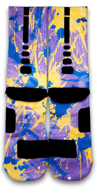 Bladder Cancer Custom Elite Socks - CustomizeEliteSocks.com - 2