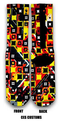 Boxed Out Custom Elite Socks - CustomizeEliteSocks.com - 4