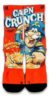 Captain Crunch CES Custom Socks - CustomizeEliteSocks.com - 1