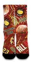 Cleveland Champs 2016 CES Custom Socks - CustomizeEliteSocks.com - 1