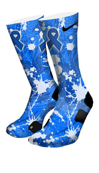 Colon Cancer Custom Elite Socks - CustomizeEliteSocks.com - 4