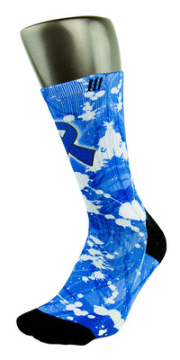 Colon Cancer CES Custom Socks - CustomizeEliteSocks.com - 3