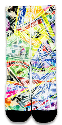 Dead Presidents CES Custom Socks - CustomizeEliteSocks.com - 1