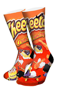 Despicable Cheetos Custom Elite Socks - CustomizeEliteSocks.com - 4