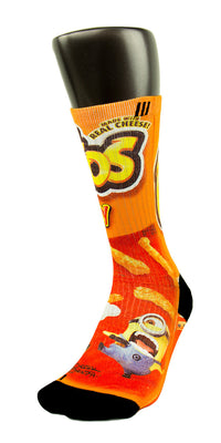 Despicable Cheetos CES Custom Socks - CustomizeEliteSocks.com - 5