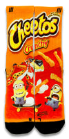 Despicable Cheetos CES Custom Socks - CustomizeEliteSocks.com - 1