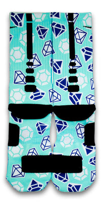 Diamond X2 Custom Elite Socks - CustomizeEliteSocks.com - 3