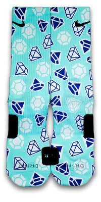 Diamond X2 Custom Elite Socks - CustomizeEliteSocks.com - 1