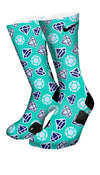 Diamond X2 Custom Elite Socks - CustomizeEliteSocks.com - 4