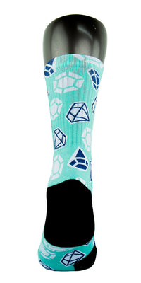 Diamond X2 CES Custom Socks - CustomizeEliteSocks.com - 4