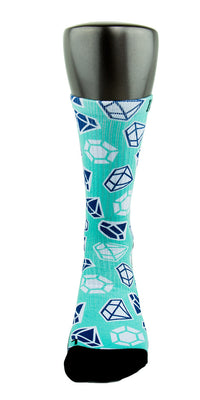 Diamond X2 CES Custom Socks - CustomizeEliteSocks.com - 2