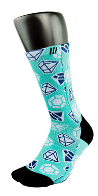 Diamond X2 CES Custom Socks - CustomizeEliteSocks.com - 3