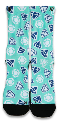 Diamond X2 CES Custom Socks - CustomizeEliteSocks.com - 1