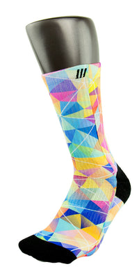 Diamond CES Custom Socks - CustomizeEliteSocks.com - 3