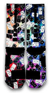 Domino FX Custom Elite Socks - CustomizeEliteSocks.com - 3