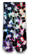 Domino FX Custom Elite Socks - CustomizeEliteSocks.com - 2