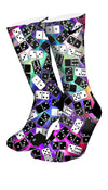 Domino FX Custom Elite Socks - CustomizeEliteSocks.com - 4