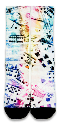 Domino FX CES Custom Socks - CustomizeEliteSocks.com - 1