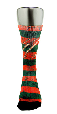 Freddy Krueger CES Custom Socks - CustomizeEliteSocks.com - 2