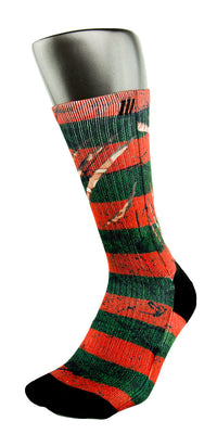Freddy Krueger CES Custom Socks - CustomizeEliteSocks.com - 3