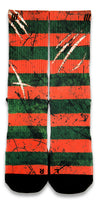 Freddy Krueger CES Custom Socks - CustomizeEliteSocks.com - 1